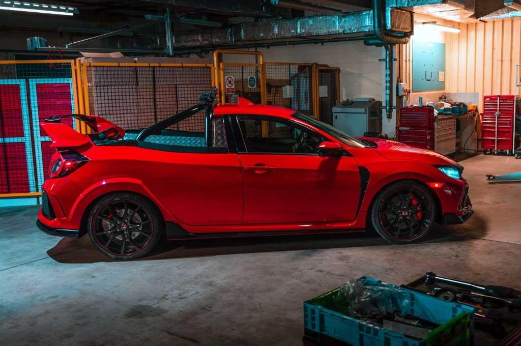 Honda Civic Type R pikup. Carscoops