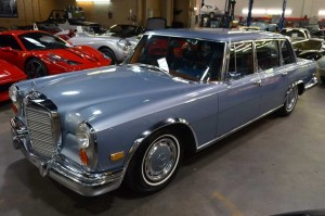 Pesona Superstar Mercedes Benz 600 Grosser 1972 klasik
