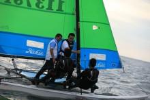 Menpora Berlayar Bersama Dua Atlet Cabor Layar
