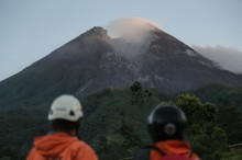 Gunung Merapi Menuju Tenang