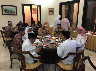 Diplomasi dan Sahur Bersama Kedubes Kuwait
