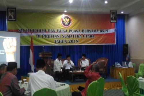 Pertemuan Kepala BNPT di Medan, Jumat 25 Mei 2018, Medcom.id -