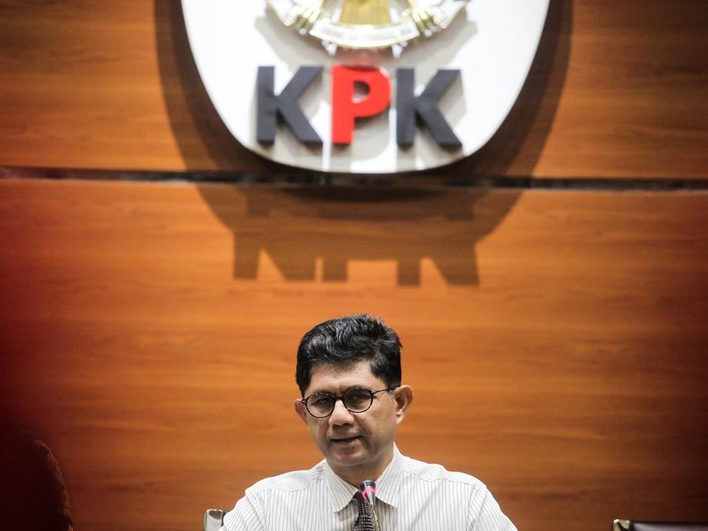 Wakil Ketua Komisi Pemberantasan Korupsi (KPK) Laode M Syarif. (Foto: Antara/Muhammad Adimaja).