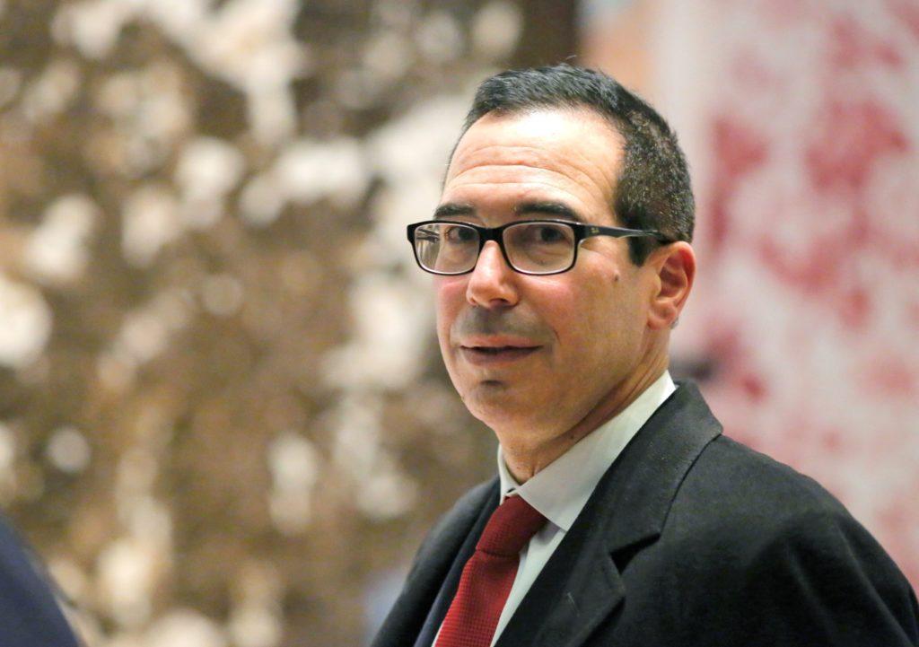 Menteri Keuangan Amerika Serikat Steve Mnuchin (KENA BETANCUR/AFP)