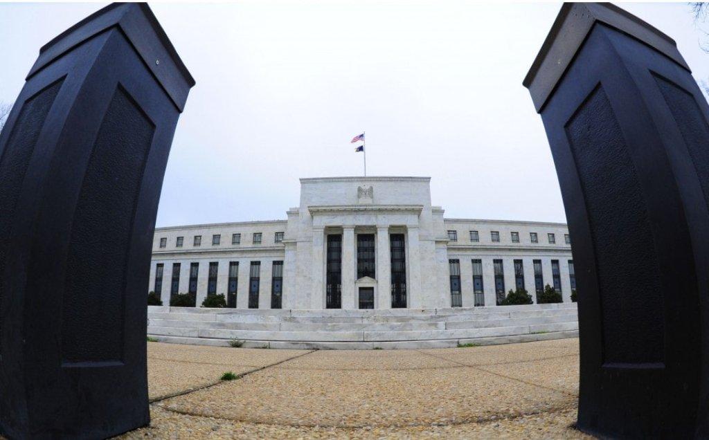 Gedung The Fed (Karen Bleier/AFP)