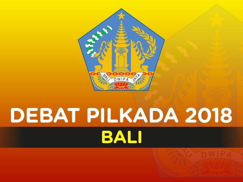 Debat Pilkada 2018 Bali, Pasangan Calon Nomor Urut 1