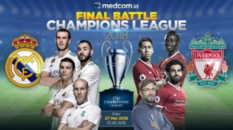 Menerka Peluang Madrid - Liverpool di Final Liga Champions