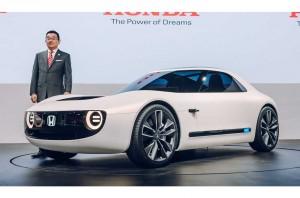 Honda Masih Ogah Bicara Mobil Listrik