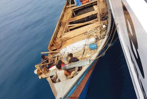 Bakamla Tangkap Kapal Pencuri Kabel Bawah Laut