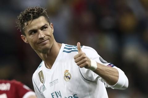 Cristiano Ronaldo, Raja Gol di Liga Champions 2017 -- 2018