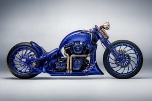 Bertabur Perhiasan, Ini Motor Kustom Termahal di Dunia