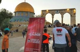 Dari RI untuk Palestina: Oase Ramadan di Kompleks Al-Aqsa
