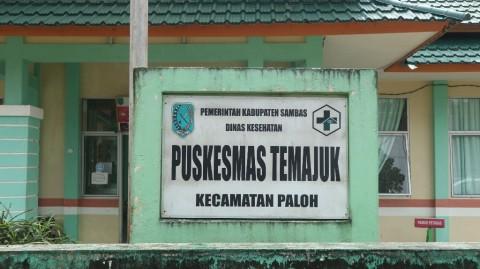 Puskesmas Temajuk Biasa Melayani Pasien asal Malaysia