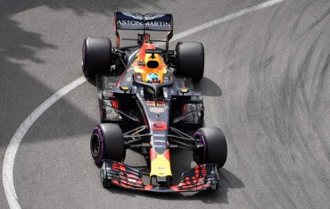 Dramatis, Ricciardo Menangkan Balapan GP Monaco