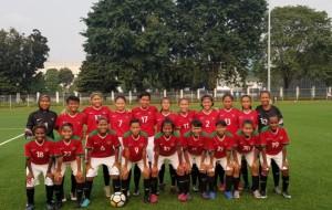 Timnas Wanita Indonesia Dicukur Thailand