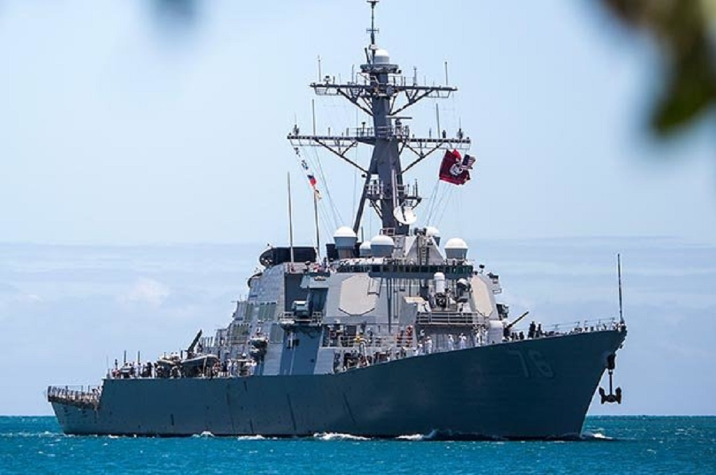 Kapal USS Higgins. (Foto: AFP/Getty)