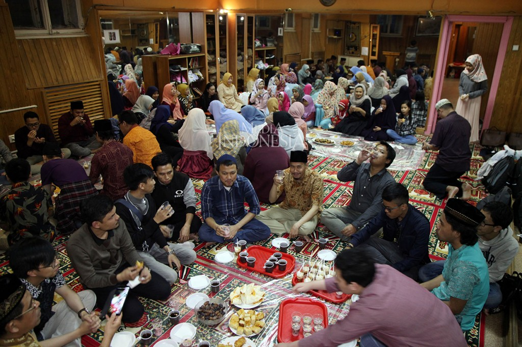 Suasana Ramadan WNI di Moskow