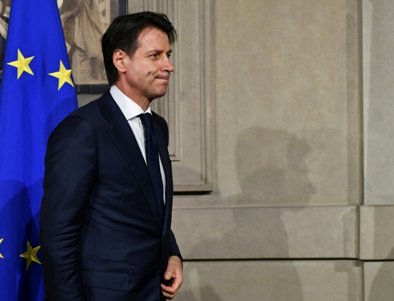 Prime minister candidate Giuseppe Conte, picked by the Five Star Movement and the League, stepped aside, making a temporary technical government seemingly inevitable. (Photo:AFP/Vincenzo Pinto)