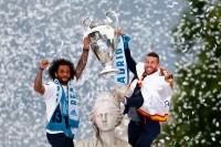 Real Madrid Gelar Pesta Juara Liga Champions di Spanyol