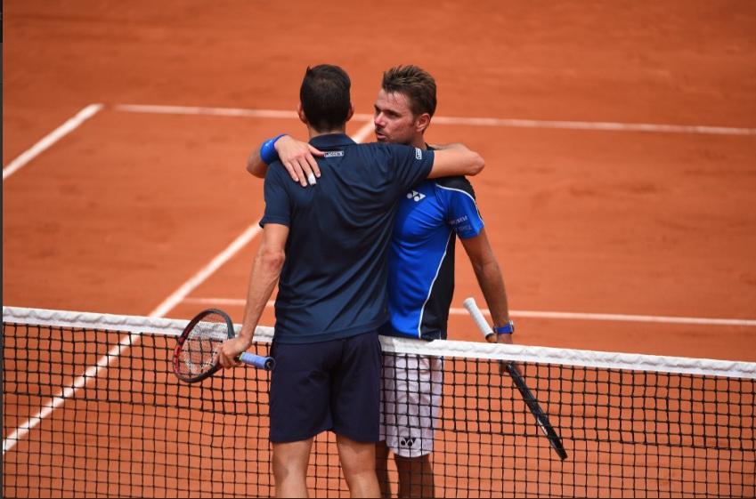 Stanislas Wawrinka secara mengejutkan dikalahkan petenis non unggulan (Foto: Rolland-Garros)