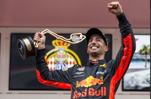 Daniel Ricciardo saat menjuarai F1 GP Monaco (Foto: F1)
