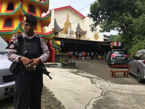 Pengamanan Vihara di Tangsel tak Ketat