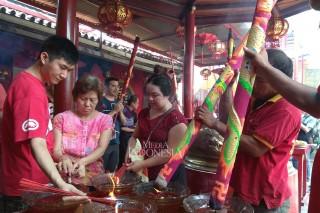 Perayaan Waisak di Wihara Dharma Bhakti Glodok