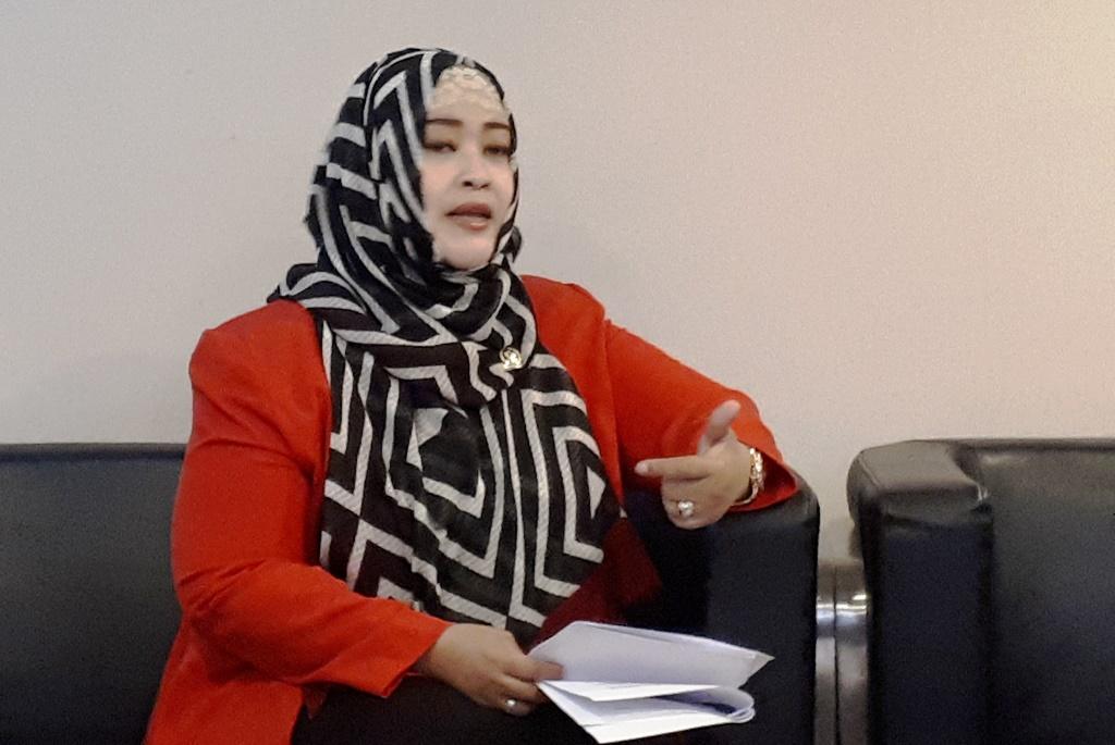 Ketua Komite III DPD RI Fahira Idris (Foto:Metrotvnews/Medcom.id)