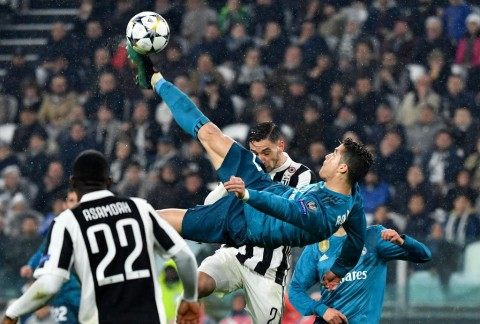 Kalahkan Bale, Gol Ronaldo Terbaik di Liga Champions