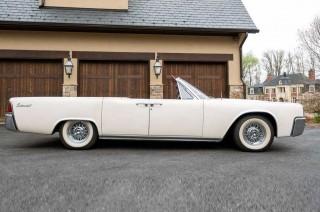 Koleksi Unik Lincoln Continental Convertible 1963 Klasik