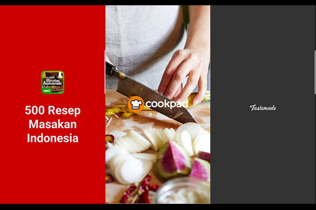 Berikut tiga aplikasi kuliner untuk membantu mengasah kemampuan memasak selama Ramadan.