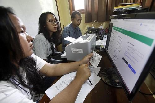 Pendaftaran PPDB <i>Online</i>  dengan sistem Zonasi,  Foto: