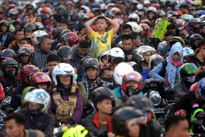 Polda Banten Siapkan Kantong Parkir Jelang Mudik