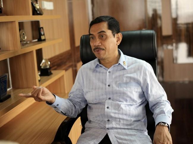 Kepala BNPT Komjen Suhardi Alius. MI/Arya Manggala