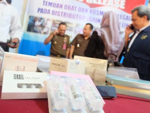 BPOM Sita Obat Ilegal Bernilai Rp3,5 Miliar di Semarang
