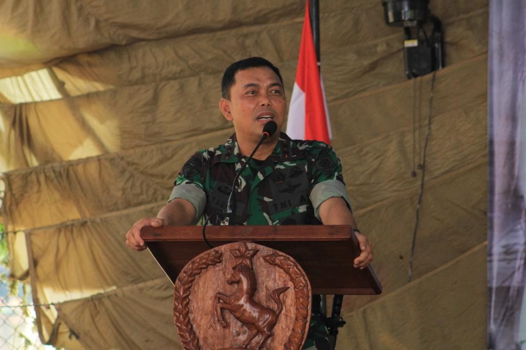 Panglima Divif 2 Kostrad, Mayjen TNI Marga Taufiq. Medcom.id/Daviq Umar Al Faruq