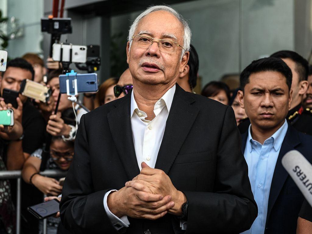 Mantan Perdana Menteri Malaysia Najib Razak. (Foto: AFP).