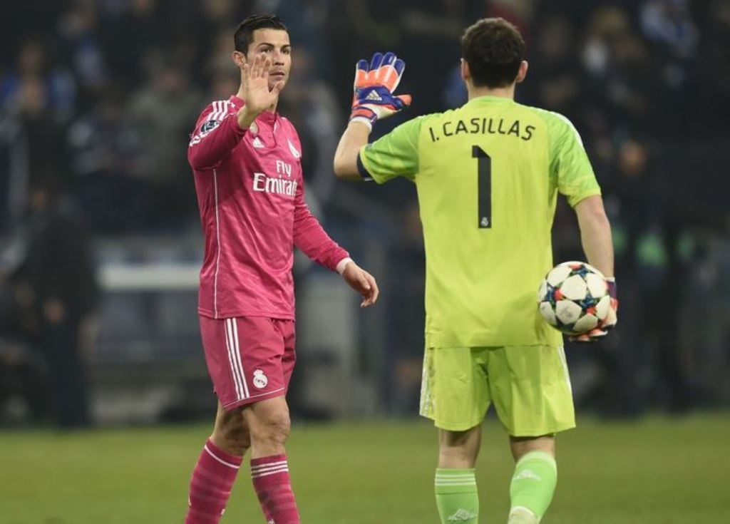 Cristiano Ronaldo dan Iker Casillas  (Foto .90min)