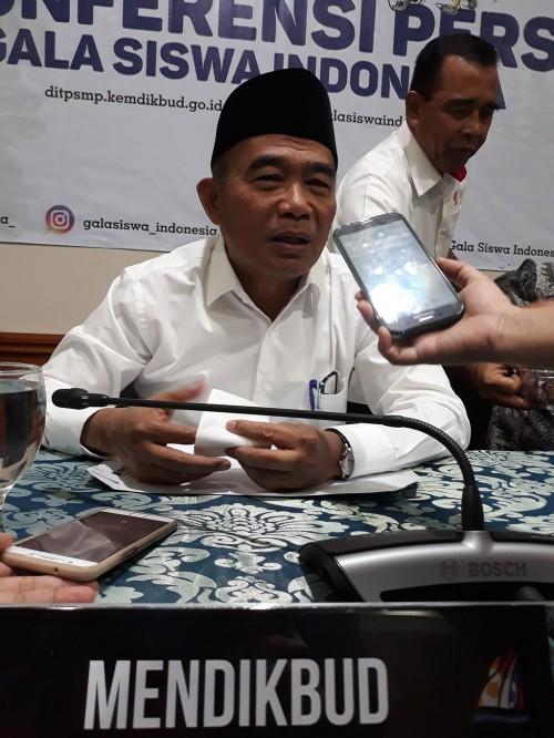 Menteri Pendidikan dan Kebudayaan, Muhadjir Effendy.  Foto: