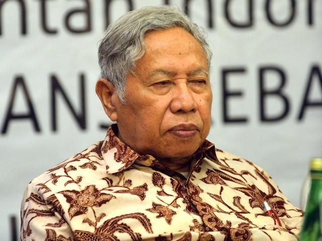 Cendekiawan muslim Dawam Rahardjo. Foto: MI/Susanto.