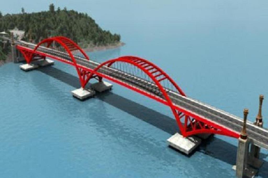 Masterplan Jembatan Kali Kuto di Batang yang menjadi jalur utama di Pantura, dok istimewa