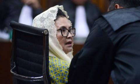 Eks Menkes Siti Fadilah Ajukan Peninjauan Kembali