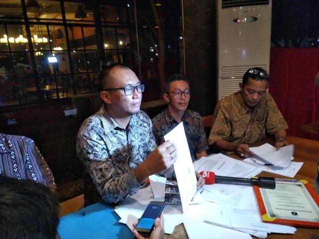 Ilustrasi--Suasana konfrensi pers PT Bumi Pari Asri--Medcom.id/Muhammad Al Hasan.