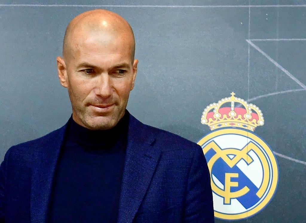 Zinedine Zidane. (Foto: AFP/Pierre-Philippe Marcou)