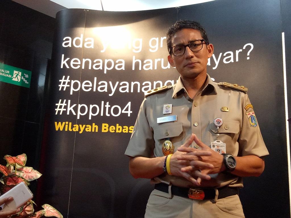 Wakil Gubernur DKI Jakarta Sandiaga Uno. Medcom.id/Yona Hukmana.
