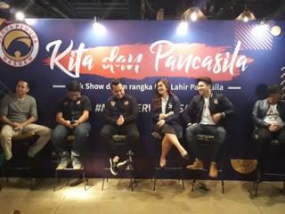 GP NasDem Ajak Pemuda Kembali Gelorakan Pancasila