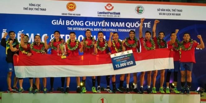Tim bola voli putra Indonesia. (Foto: Instagram PB PBVSI)