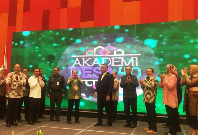 Kemendes PDTT meluncurkan Akademi Desa 4.0 di Jakarta, Kamis, 24 Mei 2018. Foto: Medcom.id/Gervin Nathaniel Purba