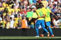 Neymar Sumbang Gol Kemenangan Brasil atas Kroasia