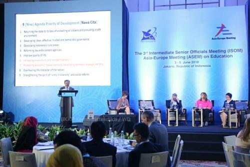Pembukaan  Intermediate Senior Official Meeting (ISOM) Asia